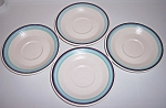 Franciscan Pottery Malibu Set/4 Saucers