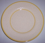 Franciscan Pottery Golden Weave Salad Plate