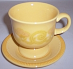 Franciscan Pottery Mirasol Cup/saucer Set