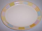 Franciscan Pottery Americana Stars/stripes Platter