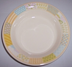 Franciscan Pottery Americana Stars/stripes Cereal Bowl