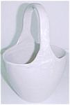 Zanesville Stoneware/pottery Handled Basket