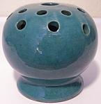 Zanesville Stoneware Pottery Company Early Vase/frog