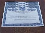 Set Of 3 Fostoria Stock Certificates