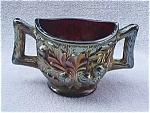 Northwood Acorn Burrs Carnival Glass Spooner