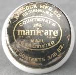 Vintage Courtenay's Manicare Jar