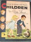 Vintage How To Draw And Paint Children
