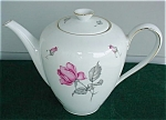 German Rose Teapot
