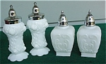 Pr. Of Milk Glass S&p Shakers