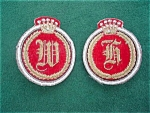 Pr. Of English Military Uniform Patches