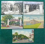 St. Augustine, Fl Postcard Collection