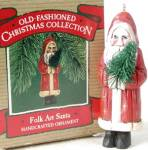 Hallmark Keepsake Ornament Folk Art Santa