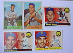 Detroit Tigers 50's Baseball Cards