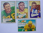 Green Bay Packers 50's Bowman Football Cards