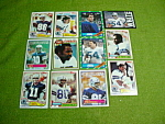 Dallas Cowboys Football Cards 1970's & 80's