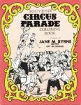 Souvenir Circus Parade Coloring Book