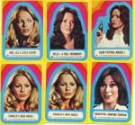 Vintage Charlie's Angels Stickers 6