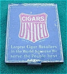 United Cigars Adver. Match Safe