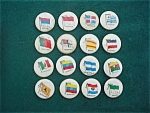 Sweet Caporal Cigarettesl World Flag Pinbacks