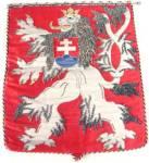 Vintage 1938 Lion Banner