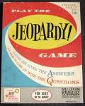 Vintage Jeopardy Game