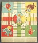 Vintage Pachezi Game Board