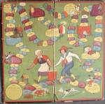 Vintage Jack And Jill Game Board