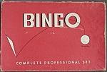 Vintage Professional Set Bingo