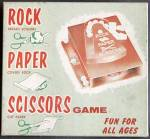 Vintage Rock Paper Scissors Game