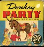 Vintage Donkey Party Game