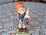 Vintage Erich Stauffer Girl - Play Time -