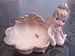 Sprite Girl - Pin Tray In Beige - Rare