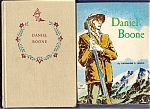 Daniel Boone Book Lot Of 2