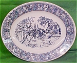 Oval Platter Shakespeare Country