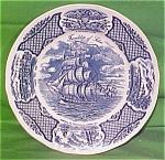 Dinner Plate Fair Winds Blue Alfred Meakin