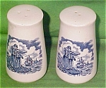 Salt + Pepper Shakers Fair Winds Bluealfred Meakin