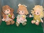 Precious Moments Doll Trio
