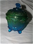 Green Glass Candydish