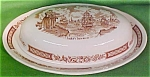 Butter Dish And Lid Fair Winds By Meakin