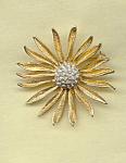 Sunflower Brooch Pin