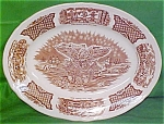 Oval Platter Large Fair Winds By Meakin