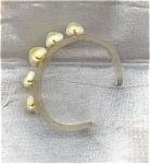 Vintage Lucite Plastic Shell Bracelet