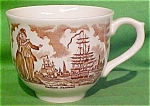 Teacup - Fair Winds By Meakin With Crazing