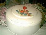 Vintage Metal Cake Cover With Bakelite Handle