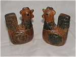 Rooster Ceramic Rooster Salt & Pepper Shakers