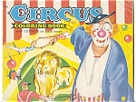 Vintage Circus Coloring Books
