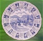 1979 Blue Calendar Meakin Zodiac