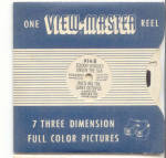 Vintage Sawyer View-master Wisconsin Usa Reel Set