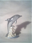 Nice Older Dolphin Ceramic Figure