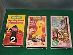Sesame Street Video Lot
